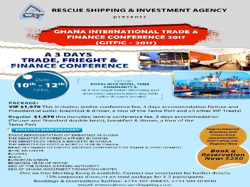 Ghana International Trade & Finance Conference (GITFiC) 2017